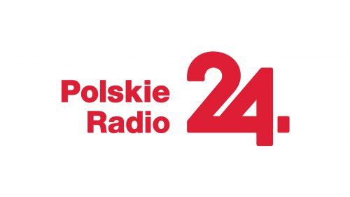 logo PR24 na bieli